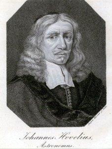 Johannes Hevelius, Astronomus
