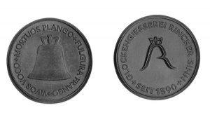 Medaille - Glockengiesserei Rincker Sinn