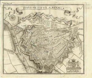 Stadtplan um 1720