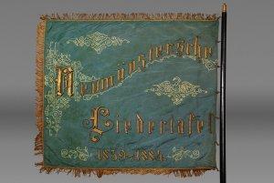 Fahne der Neumünsterschen Liedertafel 1859