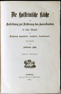 Kochbuch Die holsteinische Küche