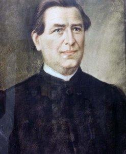 Porträt des Quierschieder Pastors Nikolaus Perrot