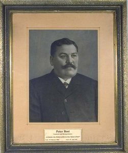 Portrait von  Peter Bost