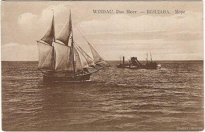 Ventspils. Baltijas jūra