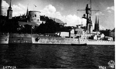 Somu kara flotes kuģi Rīgā
