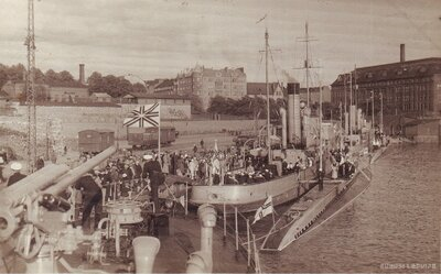 Latvijas armijas kara flotes kuģis