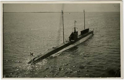 Latvijas kara flotes zemūdene