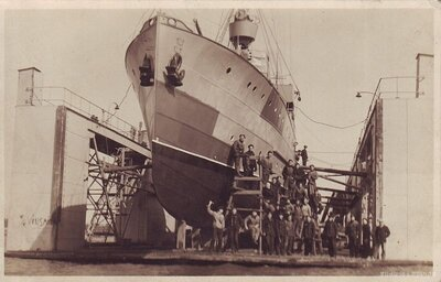 Latvijas armijas flotes kara kuģis