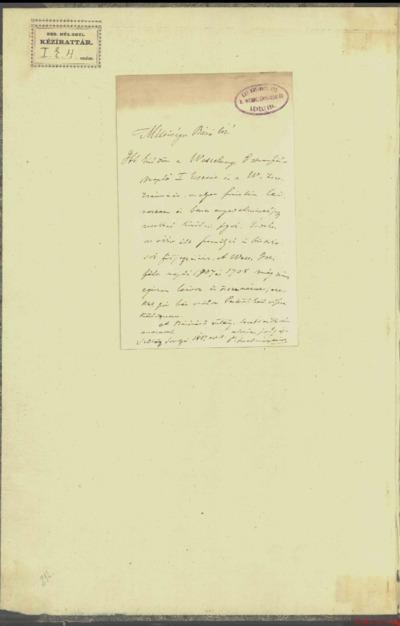 Napló : 1703-1708