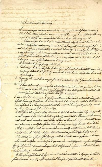 Jegyzetei az 1848-49-es forradalommal kapcsolatosan