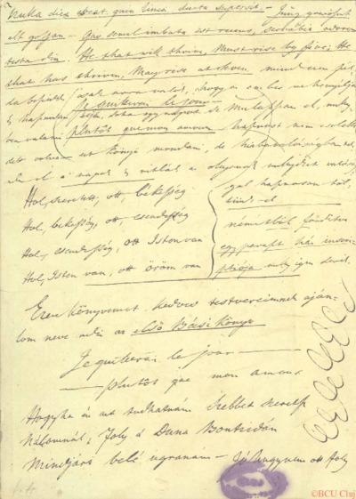 Gróf Gyulai Lajosnak maga keze és könyve : napló