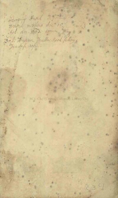 Bod Péter házi diáriuma 1750-1769