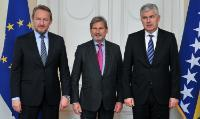Visit of Johannes Hahn, Member of the EC, to Bosnia and Herzegovina