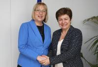 Visit of Tsetska Tsacheva, President of the Bulgarian National Assembly, to the EC