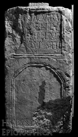Inscripción hallada en Edeta