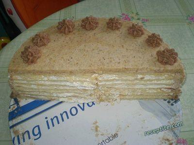 Орехово-ванилова торта