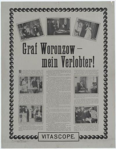 Graf Woronzow - mein Verlobter!