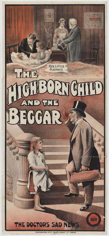The High-born child and the beggar
