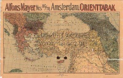 ALFONS MAYER NES 116/118, AMSTERDAM. ORIENTTABAK
