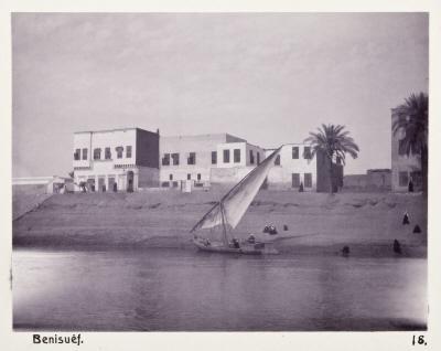 Fotografi. Beni Suef, Egypten.
