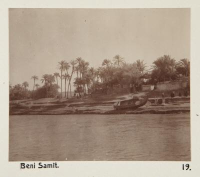 Fotografi. Beni Samit, Egypten.