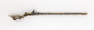 Hjullåslodbössa, Teschen, 1600-talets mitt