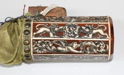 Kruthorn med kulpung, Samuel Kluge, Landshut ca 1680.