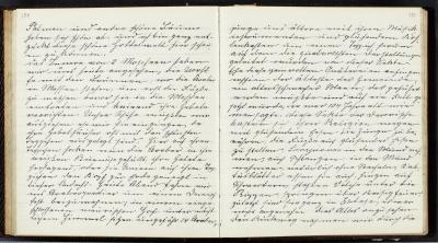 Ida Uhses resedagbok från resan till Nordafrika 1889-1890.