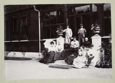 Fotografi, familjen von Hallwyl