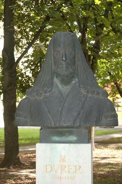 Gyula, Albrecht Dürer szobra