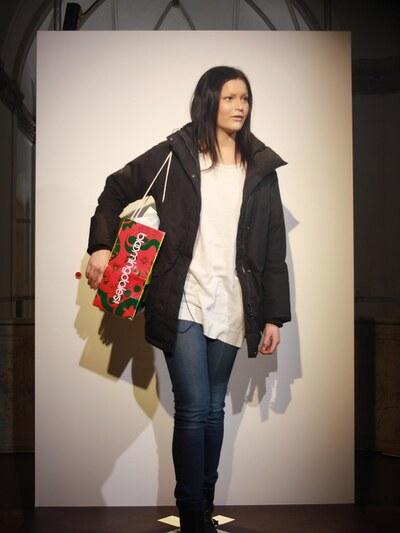 jeans, väska