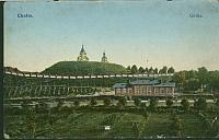 Widok Górki Chełmskiej od strony ówczesnego prawosławnego seminarium duchownego