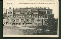 Cholm. Technische Eisenbahnschule. - Techniczna szkoła kolejowa.
