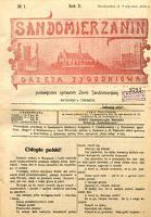 Sandomierzanin, Rocznik II, rok 1913