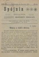 Spójnia, Rok III/Rok IV, 1919 r.