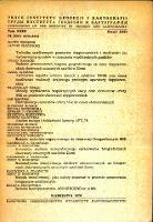 Prace Instytutu Geodezji i Kartografi 1976, t. 23, z. 2(53) - wprowadzenie