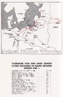 Połączenia lotnicze z Gdańska ok. 1929 r. [w:] Wer kennt Danzig? How to see Danzig, Stettin [1929]