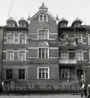 Gdańsk Wrzeszcz, ul. Do Studzienki 13. Fasada kamienicy