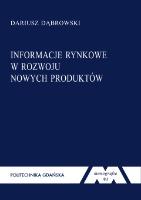 Informacje rynkowe w rozwoju nowych produktów