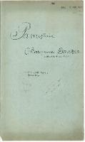 Pamiętnik (1920/1923)