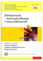 Ograniczanie złożoności jako uwarunkowanie osiągania efektywności organizacji. Prace Naukowe Uniwersytetu Ekonomicznego we Wrocławiu = Research Papers of Wrocław University of Economics, 2012, Nr 262, s. 277-292