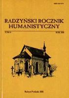 Radzyński Rocznik Humanistyczny T. 8 (2010)