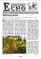 Echo Studzianki : kwartalnik Stowarzyszenia Rozwoju Miejscowości Studzianka R. 5 (2013) nr 2 (16)