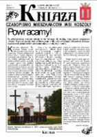 Kniaża: czasopismo mieszkańców wsi Koszoły R. 4 (2013) nr 5