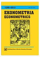 Geometrical perspective on rotation and data structure diagnosis in factor analysis. Ekonometria = Econometrics, 2013, Nr 1 (39), s. 198-209