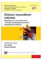 Koncepcja sieci w zarządzaniu publicznym: pomiar efektywności partnerstw lokalnych. Prace Naukowe Uniwersytetu Ekonomicznego we Wrocławiu = Research Papers of Wrocław University of Economics, 2013, Nr 277, s. 360-366