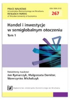 Potencjał rozwojowy (inwestycyjny) MŚP na terenie województwa łódzkiego. Prace Naukowe Uniwersytetu Ekonomicznego we Wrocławiu = Research Papers of Wrocław University of Economics, 2012, Nr 267, T. 1, s. 253-259
