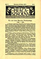 Praca Szkolna : dodatek miesięczny do Głosu Nauczycielskiego, poświęcony sprawom pedagogiczno-dydaktycznym w związku z praktyką szkolną, Rok V, nr 3