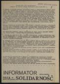 Informator Związkowy, [5] 1981