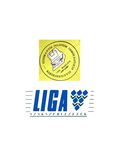 Szakszervezeti logók (Tudományos Dolgozók Demokratikus Szakszervezete, Liga)